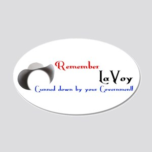 Remember LaVoy Wall Decal