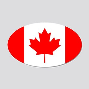Canadian Flag Wall Decal