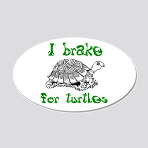 Turtles - 20x12 Oval Wall Decal