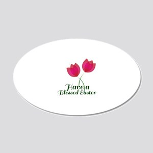 Blessed Easter Wall Decal