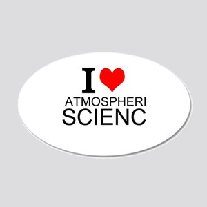I Love Atmospheric Science Wall Decal
