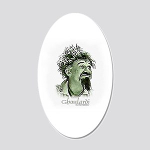 GhoulardiRemembered 20x12 Oval Wall Decal