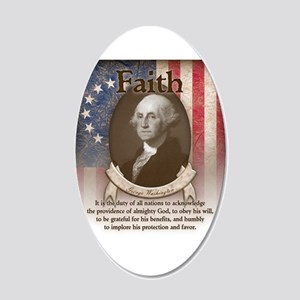George Washington - Faith Wall Decal