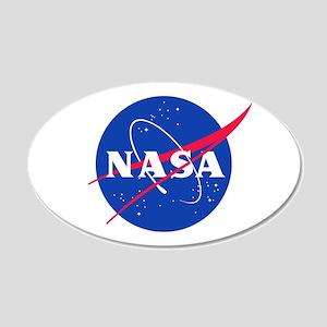 NASA 22x14 Oval Wall Peel