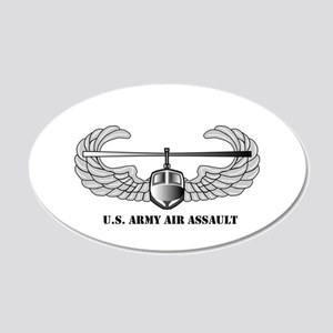 Air Assault Wings 20x12 Oval Wall Peel