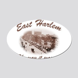 East Harlem 22x14 Oval Wall Peel