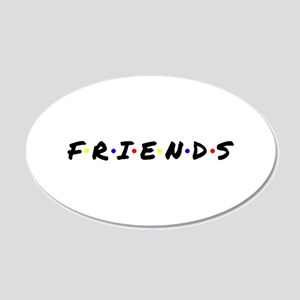 FRIENDS Wall Decal