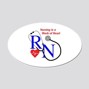 WORK OF HEART Wall Decal