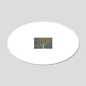 My Tree of Life 20x12 Oval Wall Decal