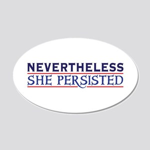 Nevertheless She Persisted Wall Decal