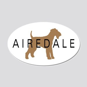 Airedale 20x12 Oval Wall Peel