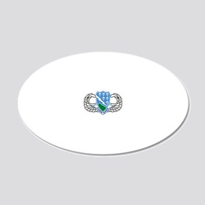 2-Army-506th-Infantry-Regime 20x12 Oval Wall Decal