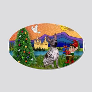 Christmas Fantasy & AHT 20x12 Oval Wall Decal