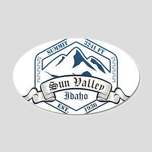Sun Valley Ski Resort Idaho Wall Decal