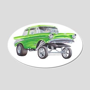 57 Green Gasser  Wall Sticker
