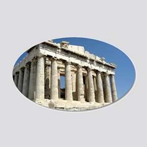 Parthenon 22x14 Oval Wall Peel