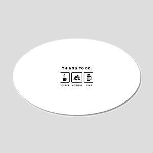 Bonsai-Lover-ABH1 20x12 Oval Wall Decal