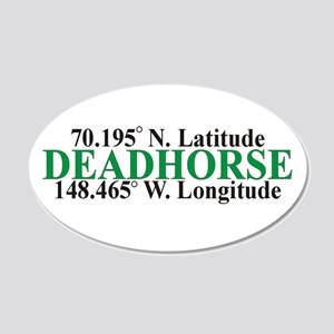DeadHorse 20x12 Oval Wall Peel