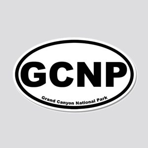 Grand Canyon National Park 20x12 Oval Wall Peel