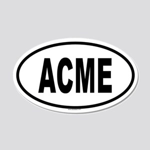 ACME 20x12 Oval Wall Peel