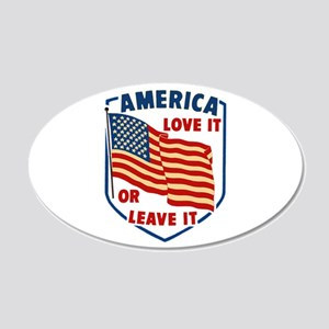 America Love it Wall Decal