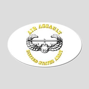 Emblem - Air Assault 22x14 Oval Wall Peel