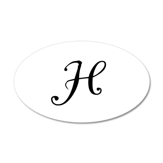 A Yummy Apology Monogram H