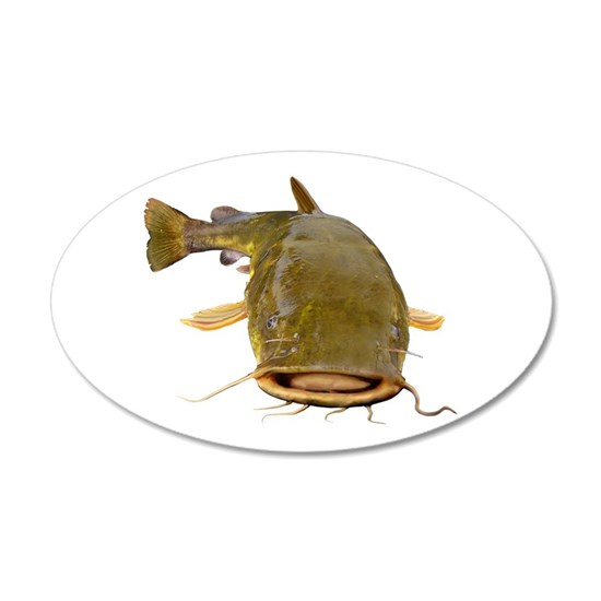 Fat Flathead Catfish Wall Decal By Fisheadtackle Photography And