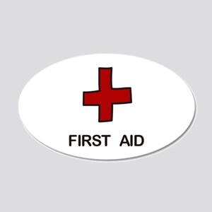 First Aid Wall Decal