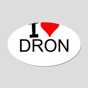 I Love Drones Wall Decal