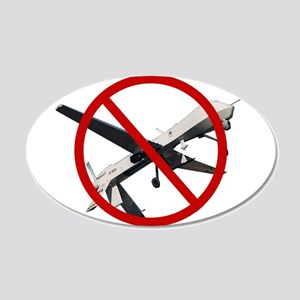 No Drones 2 Wall Decal