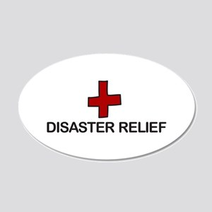 Disaster Relief Wall Decal