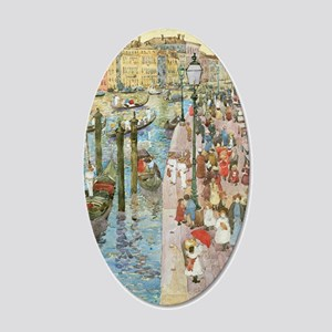 Maurice Prendergast Venice G 35x21 Oval Wall Decal