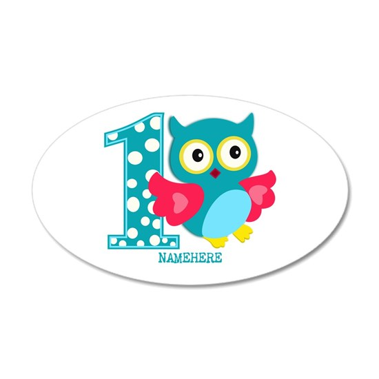 Cute First Birthday Owl