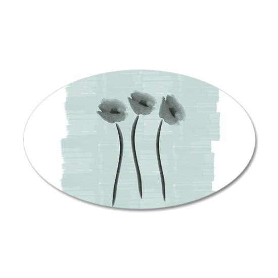 Watercolor White Anemone Gardener Florist