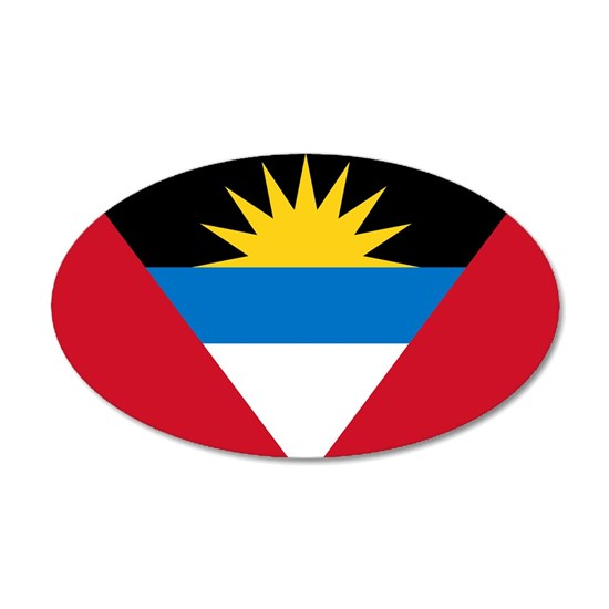 Antigua  Barbuda Flag