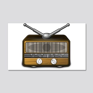 Vintage Radio Wall Decals Cafepress