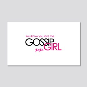 Gossip Girl 22x14 Wall Peel