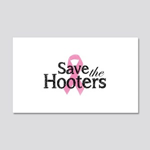 Save the hooters 22x14 Wall Peel