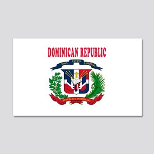 Dominican Republic Coat Of Arms Designs 20x12 Wall