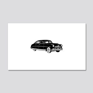 Fifties Classic Car 20x12 Wall Decal