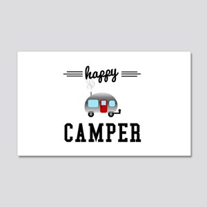 Happy Camper 20x12 Wall Decal