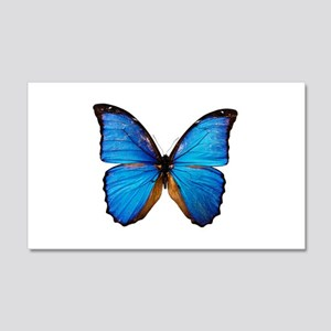 Animals Blue Butterfly Wall Decal