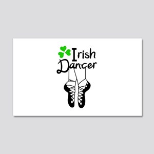 IRISH DANCER Wall Decal