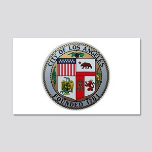 City of Los Angeles 20x12 Wall Peel