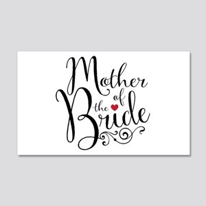 Mother of Bride 20x12 Wall Decal