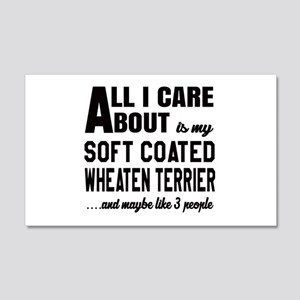 All I care about is my Soft Coate 20x12 Wall Decal