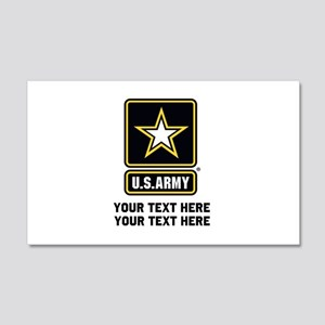 US Army Star 20x12 Wall Decal