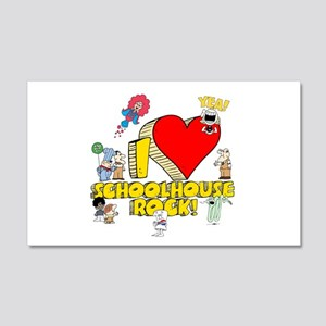 I Heart Schoolhouse Rock! 22x14 Wall Peel