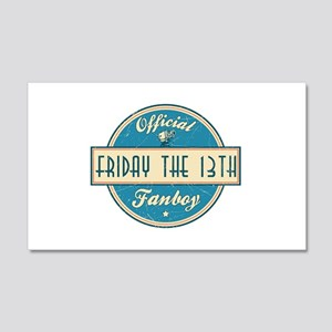 Official Friday the 13th Fanboy 22x14 Wall Peel